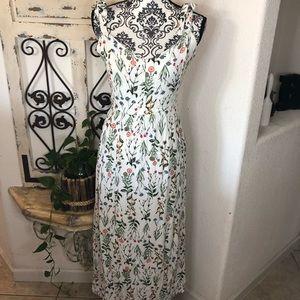 Tabitha Webb tie strap cottage core maxi dress